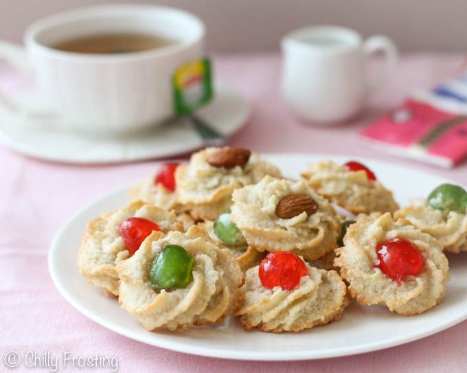 Almond Cookies - Pasticcini di Mandorle - Chilly Frosting