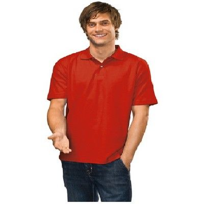 Mens Heavyweight Custom Polo Shirt Coloured Min 25 - 170 g/m2. 100% deluxe cotton pique for comfort. Mix and match this product with EL-AU31001 at the same price.  #CheapPoloShirts #PoloShirts #PromotionalProducts #PromotionalPoloShirts