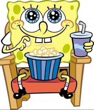 Me at the movies ... minus the popcorn