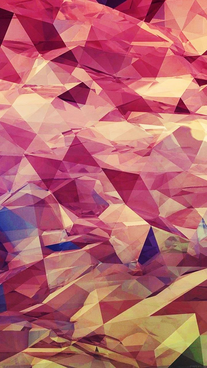 Watercolor style geometric abstract wallpaper. Tap to see more Stunningly Beauti... | Abstract HD Wallpapers 7