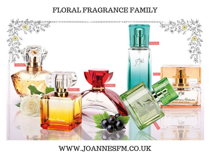 Floral Fragrance Family is the largest and most versatile group of scents. It is the essence of femininity expressed with aromatic oils of roses peony jasmine with the addition of freshness of fruit or intensity of exotic spices.  --  We pay an extra attention to beautiful scents! We adore them and want them to be available for everyone! heart emoticon<3 Here are our top picks from the Floral Fragrance Family for Her!    FM365 - with a woody note  FM283 - with a citrus note  FM281 - with a…