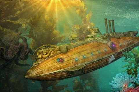 The ideas of jules verne in the novel 20000 leagues under the sea