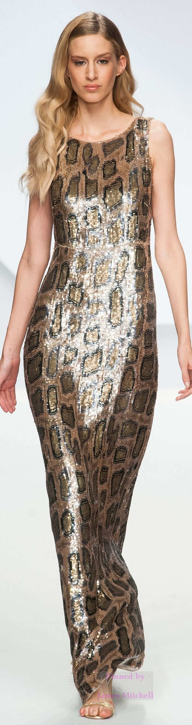 ~Krizia Snake Print Dress Animalistic Style #UNIQUE_WOMENS_FASHION