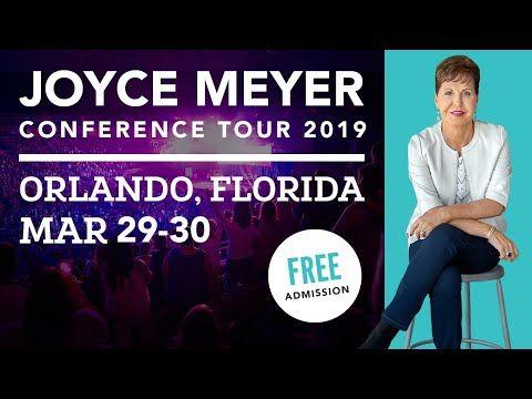 Joyce Meyer Conference Tour 2019 | Orlando FL - YouTube