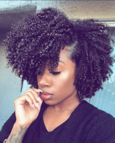 Natural Hairstyles For Black Women 496 Best Curly Hairstyles For Black Women Images On Pinterest