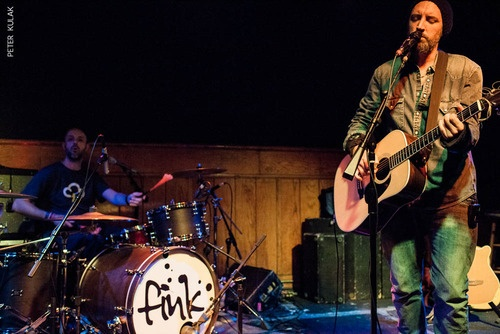 From Fink Live Experience ~ October 10, 2012 @finkmusic   Photographed by Peter Kulak