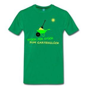 Stunning Garten Landschaftsbau T Shirts M nner Premium T Shirt Kelly Green