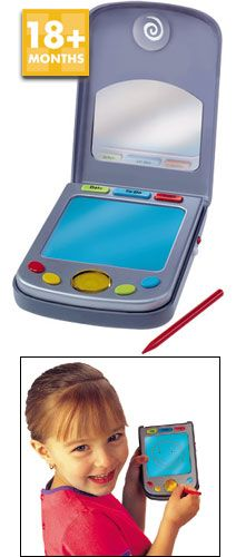 Parents Magazine - Pocket Pilot Flip-top cover draw-and-erase screen and pop-up stylus for the young VIP. Bonus: record reminders http://www.comparestoreprices.co.uk/educational-toys/parents-magazine--pocket-pilot.asp