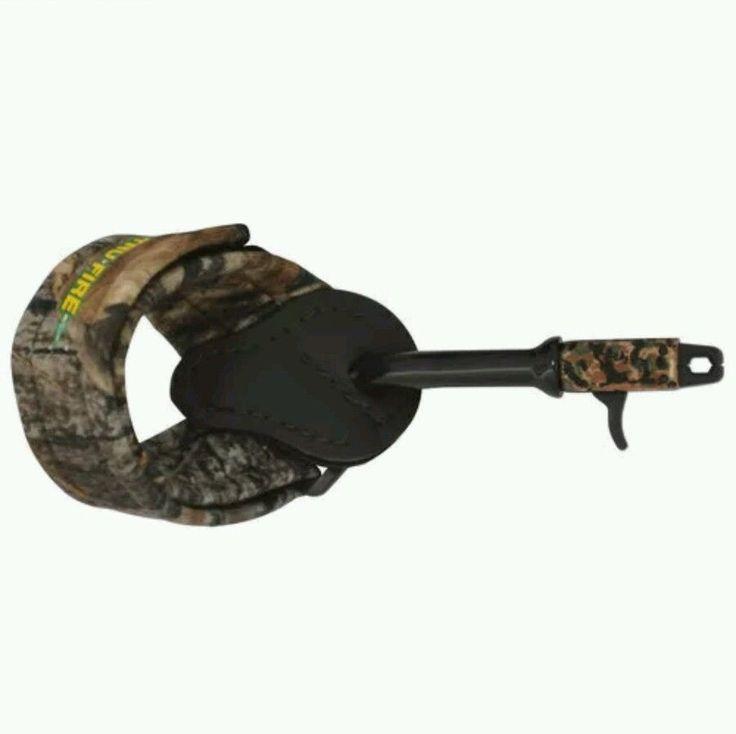 Tru-Fire  X-Caliper II POWERSTRAP ARCHERY 360° Head Bow Release Aids #TruFire