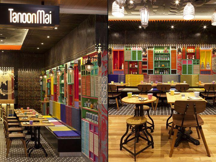 Tanoon Mai restaurant by Vie Studio Chatswood in Australia
