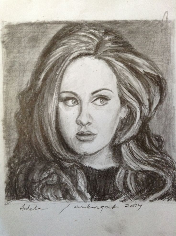 Adele , in graphics