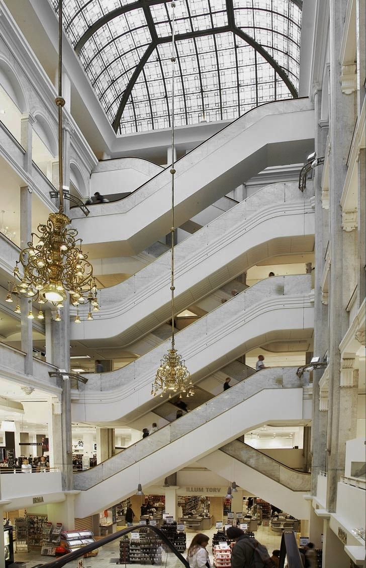 Illum's department store, Copenhagen, Denmark