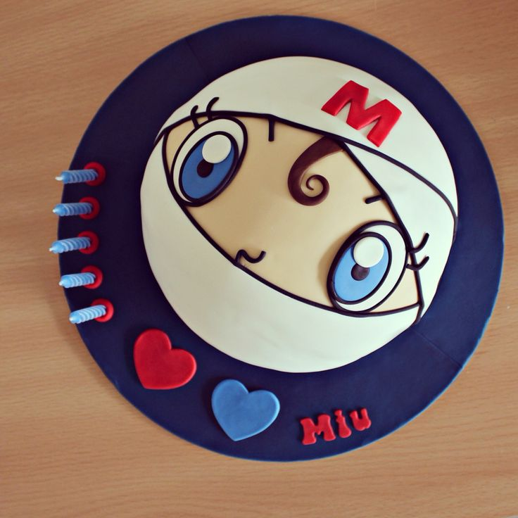 160 best b a k i n g images on pinterest birthday for Anpanman cake decoration