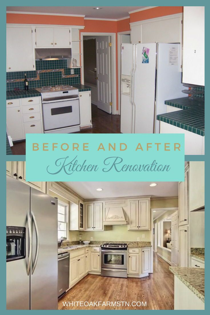 Small Kitchen Remodel || Kitchen Before and After || Kitchen ...