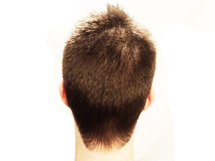After the cut - Back side. Modelo: Juan Pablo.