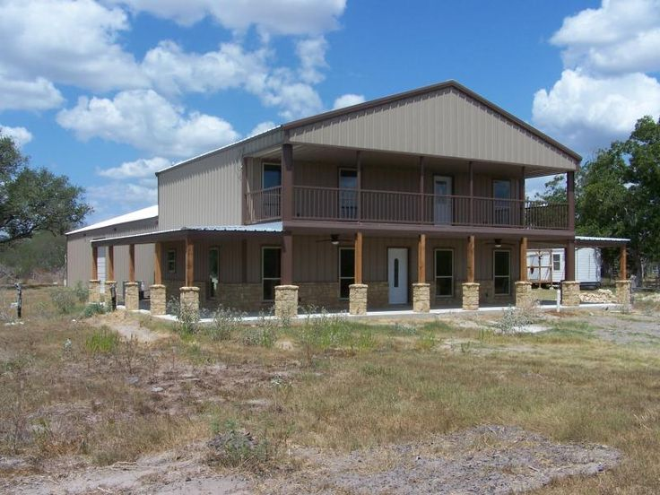 Steel Frame Homes w/ Limestone Exterior & More! (10 HQ Pictures) | Metal Building Homes