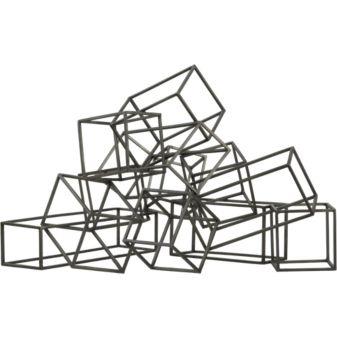 CB2 Cubist Sculpture