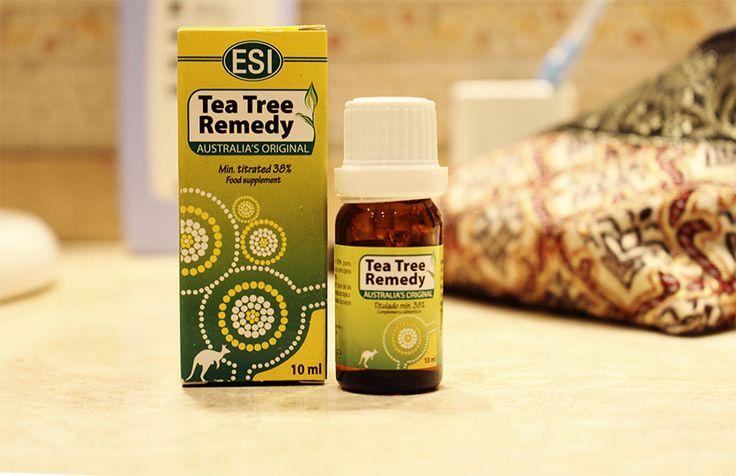 #musthave aceite del arbol del té #beautytips