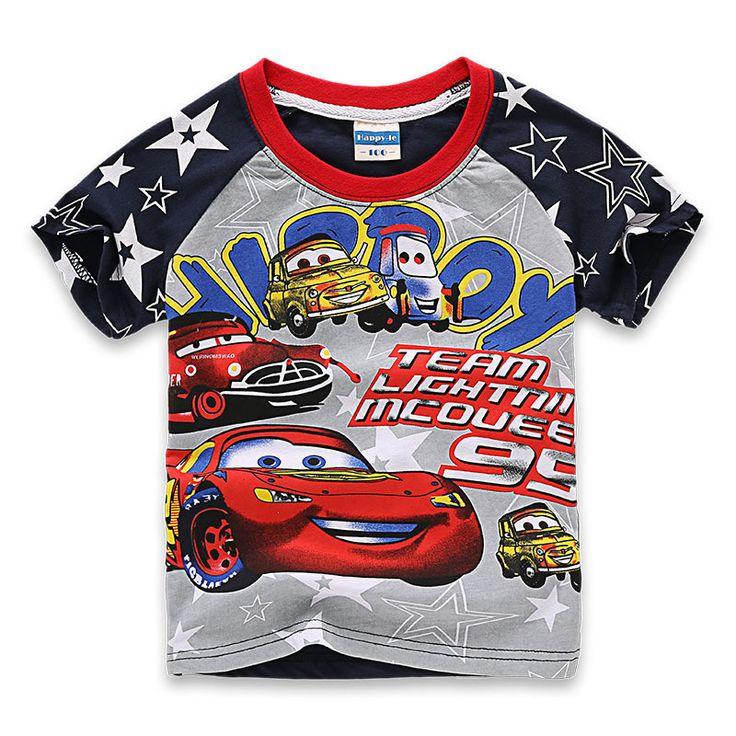 $7.05 (Buy here: https://alitems.com/g/1e8d114494ebda23ff8b16525dc3e8/?i=5&ulp=https%3A%2F%2Fwww.aliexpress.com%2Fitem%2F2016-New-Cotton-Short-Sleeved-Kids-Clothes-Boys-T-Shirts-Brand-Car-Cartoon-T-shirt-Pattern%2F32671571120.html ) 2016 New Cotton Short-Sleeved Kids Clothes Boys T Shirts Brand Car Cartoon T shirt Pattern Kids Boys Clothing for just $7.05