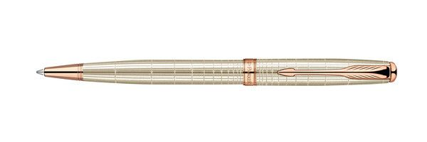 Parker Sonnet Precious Pearl w/ PGT Ballpoint Pen