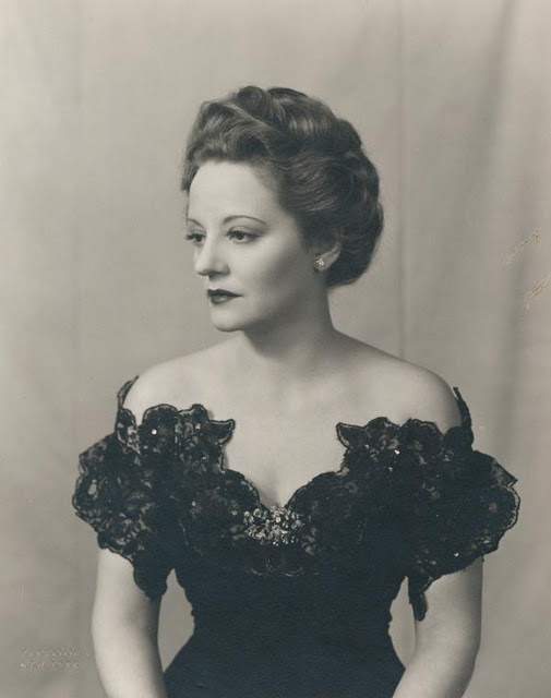 Tallulah Bankhead, Broadway diva and notorious Sardi's customer, hell raiser, brilliant actress, and fellow Huntsvillian!!