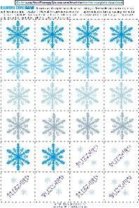 Cut and create this fine motor winter activity.  Visit www.YourTherapySource.com for more ideas.