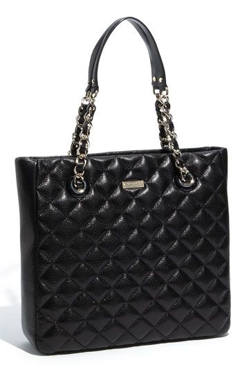 kate spade new york 'gold coast - sierra' quilted leather shopper