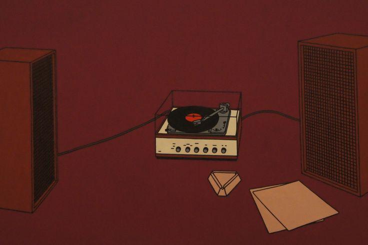Patrick Caulfield Stereophonic Record Player, 1968