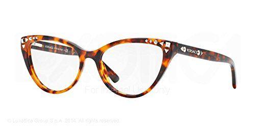Amazon.com: Versace VE3191 Eyeglasses-5074 Havana-54mm: Clothing