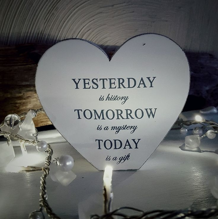 Yesterday, tomorrow, today