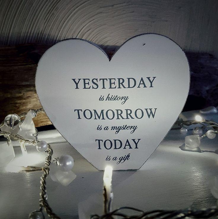 Yesterday, tomorrow, today