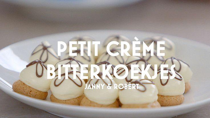 Petit Crème Bitterkoekje #Heel Holland Bakt!
