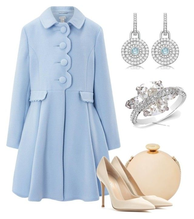 """""""Countess of Bristol at the opening Invictus games"""" by claire-hamilton-bristol on Polyvore featuring мода, Love Moschino, Monsoon, Gianvito Rossi и Graff"""