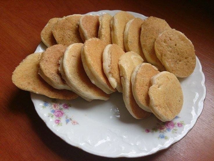 Placuszki z kaszy manny i bananów