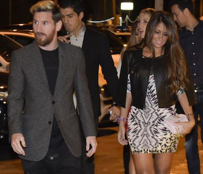 football and showbiz stars gather in northern Argentina on Friday for Latin the uss superstar wedding bash of the last decade whilst Barcelona movie star Lionel Messi marries his early life sweetheart Antonella Roccuzzo. Messi and Antonella Roccuzzo throu