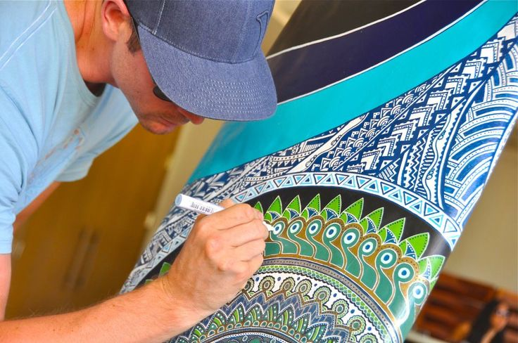 Drew Brophy - Uni POSCA Markers - Cool video on how to use these amazing markers