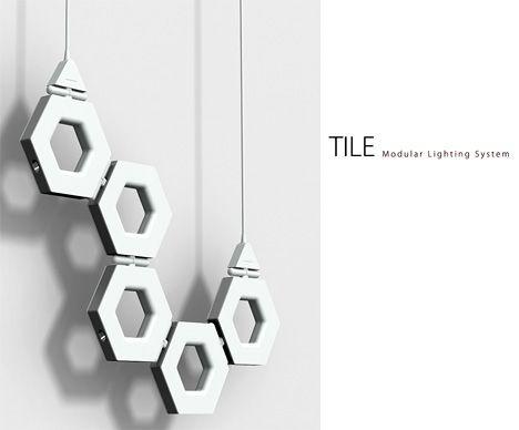 Tile U2013 Modular Lighting System By Gary Chang Nice Ideas