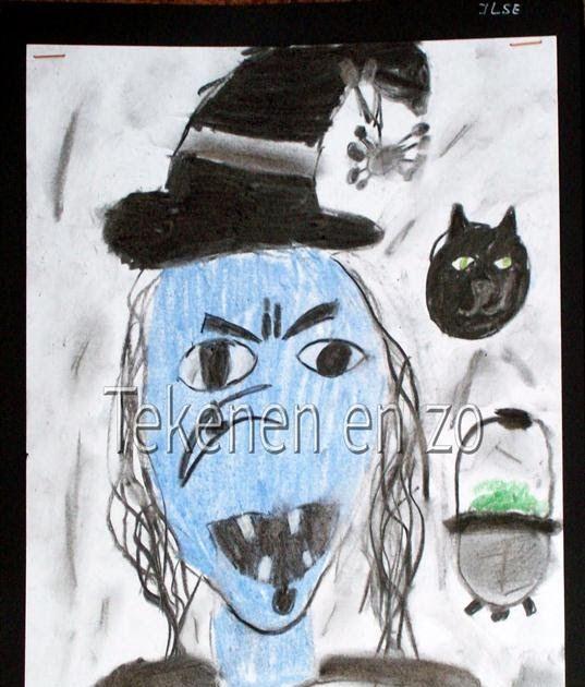 Door Ilse, groep 7 Benodigdheden: houtskool pastelkrijt wit tekenpapier op A4 formaat zwart papier voor achtergrond haarlak Houd een kla...
