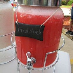 This Red Slush Punch is a party MUST! It is sooo delicious, I make it for almost every occasion!