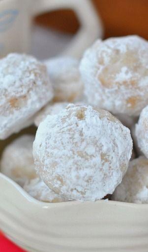 Powdered Sugar Donut Holes