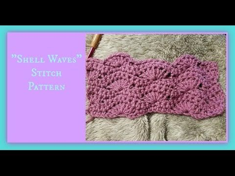 """""""Shell Waves"""" Stitch Pattern"""