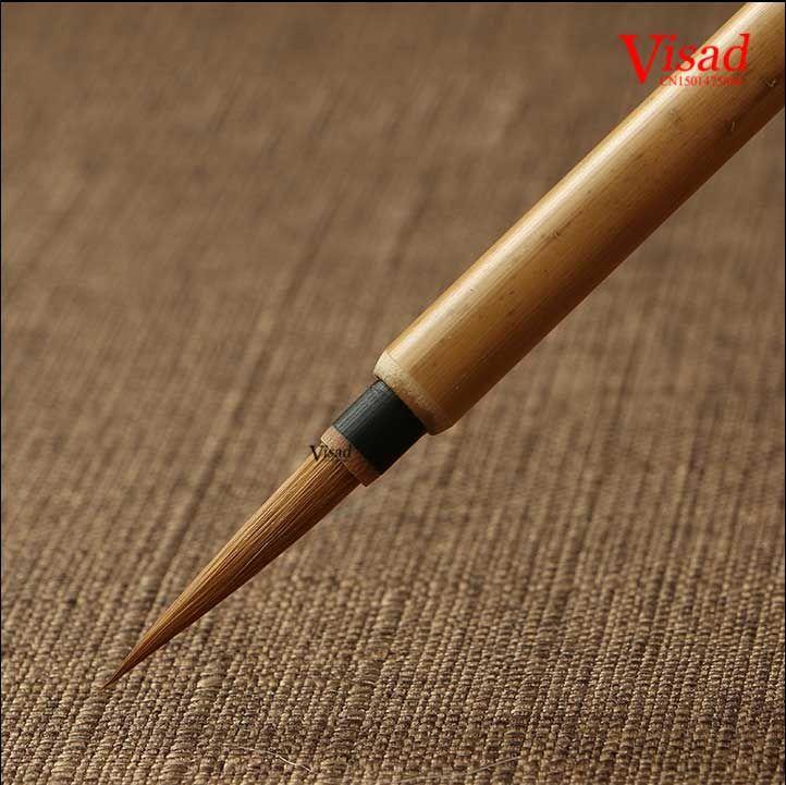 Chiński Kaligrafii Brushe pentel Pióro z Łasica Włosów sztuka malowania dostaw sztuki oil paint brush pen(China (Mainland))