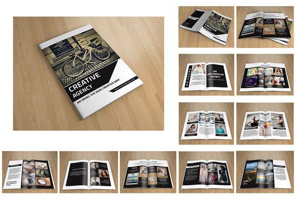 Creative Brochure-V96 by Template Shop on Creative Market