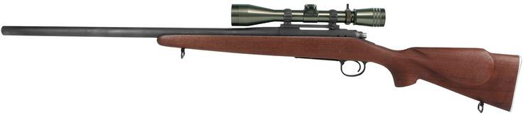 USMC M40 with a new Redfield scope on it in OD green. link below    http://swfa.com/Redfield-3-9x40-USMC-M40-Rifle-Scope-P61083.aspx