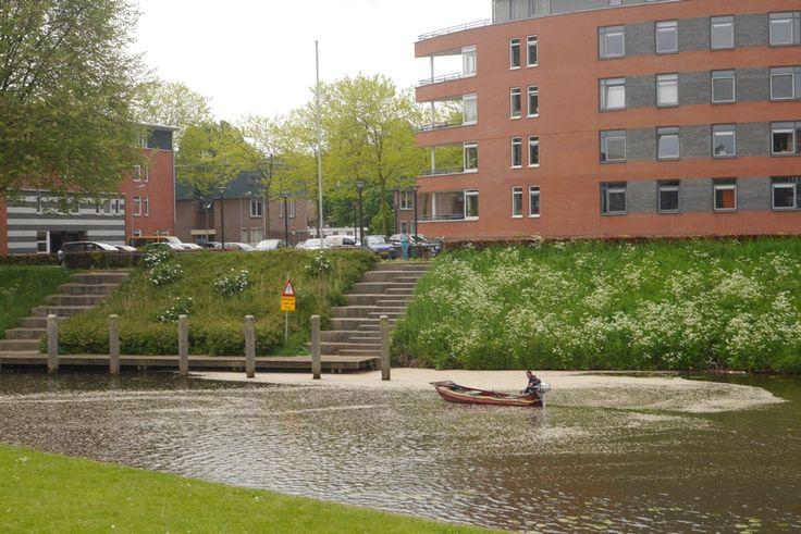 De rivier de Aa stroomt door 's-Hertogenbosch.