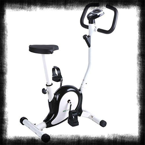 Indoor Exercise Bike Upright Cardio Burn Fat Workout Trainer