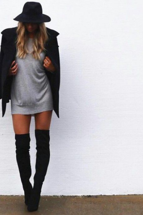 sexy over the knee look ///