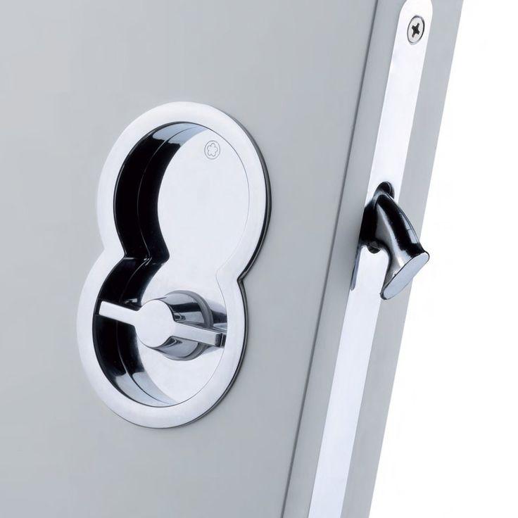 Best 25 sliding pocket doors ideas on pinterest - Locks for pocket doors in bathrooms ...