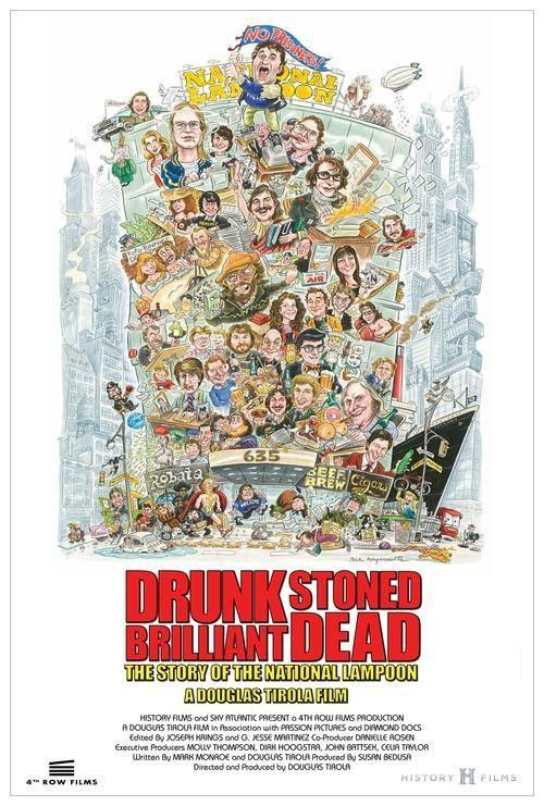 'Drunk Stoned Brilliant Dead', A New Documentary About the History of Humor Magazine 'National Lampoon'