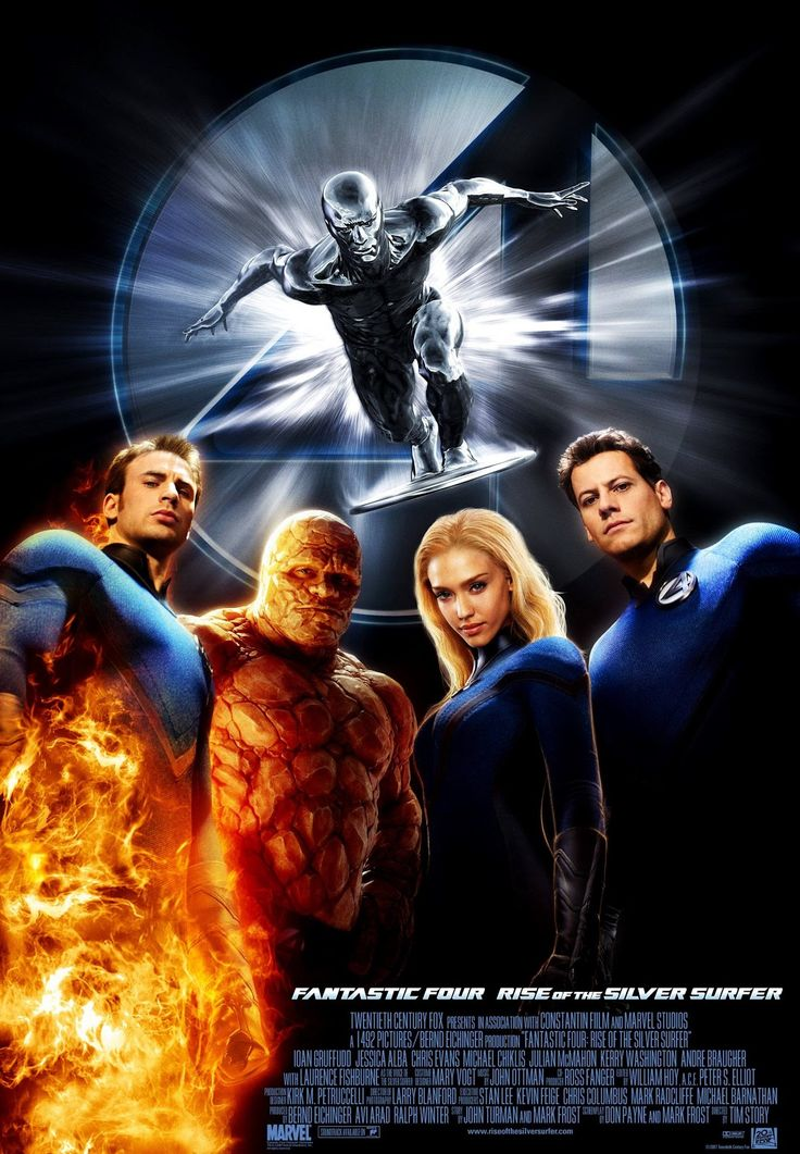 Fantastic Four - Rise of the Silver Surfer 2007 Movie Review